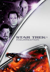 Rent Star Trek: Insurrection on DVD