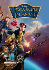 Rent Treasure Planet on DVD