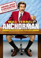 Rent Anchorman: The Legend of Ron Burgundy on DVD
