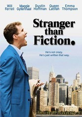 Rent Stranger than Fiction on DVD