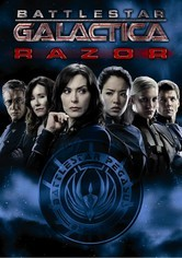 Rent Battlestar Galactica: Razor on DVD