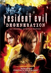 Rent Resident Evil: Degeneration on DVD