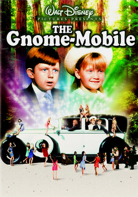 Rent The Gnome-Mobile on DVD
