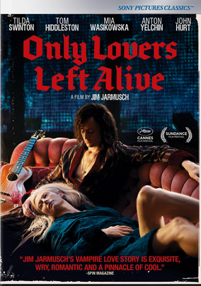 Rent Only Lovers Left Alive on DVD